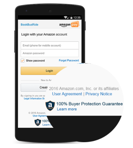 Amazon Pay buyer protection