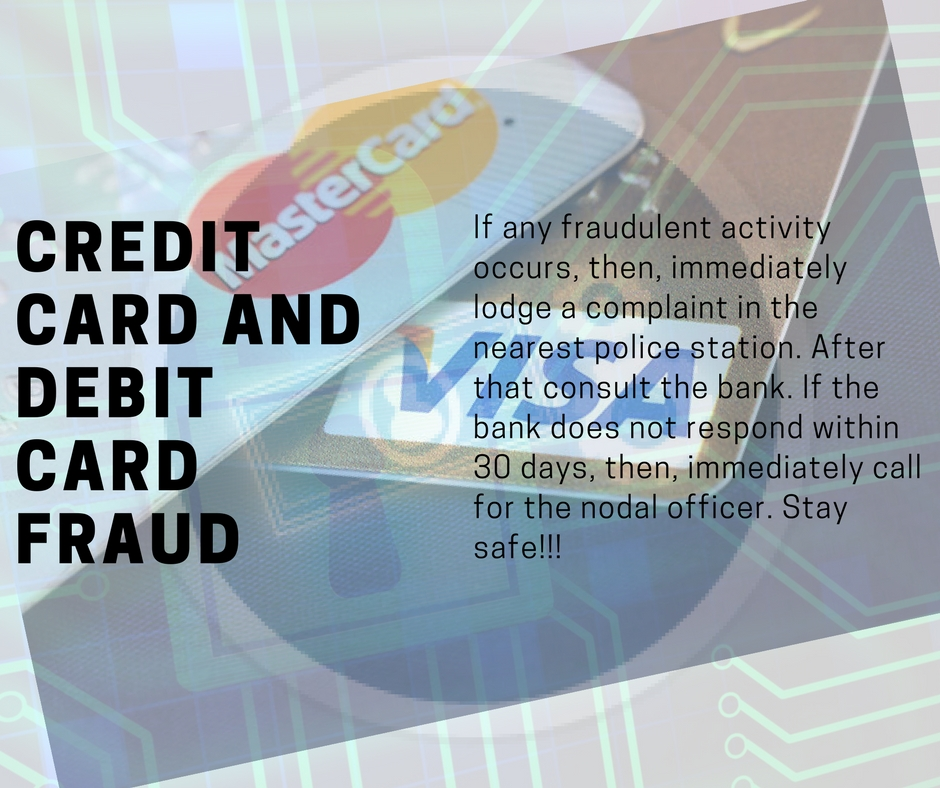 Credit Card and Debit Card Fraud